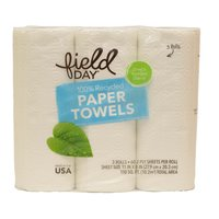 Field Day Paper Towels, 3 Each