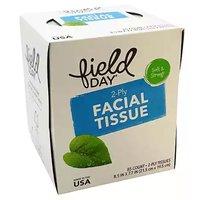 Field Day Facial Tissue, 85 Sheets, 1 Each