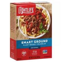 Lightlife Smart Ground Crumbles, Original, Meatless, 12 Ounce
