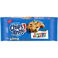 Chips Ahoy! Candy Blasts Chocolate Chip Cookies, 12.4 Ounce