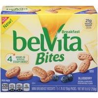 Belvita Breakfast Biscuits, Blueberry, Mini Bites, 8.8 Ounce