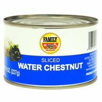 Family Water Chestnuts, Sliced, 8 Ounce