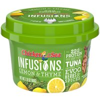 Chicken of the Sea Tuna Infusions Lemon Thyme, 2.8 Ounce