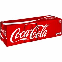 Coca Cola Classic, Cans (Pack of 12), 12 Ounce