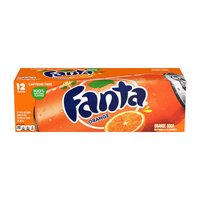Fanta Orange, Cans (Pack of 12), 12 Ounce