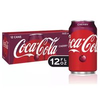 Coke Cherry, Cans (Pack of 12), 12 Ounce