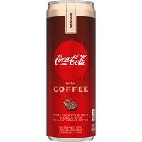Coca Cola with Coffee, Vanilla, 12 Ounce