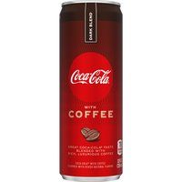 Coca Cola with Coffee, Dark Blend, 12 Ounce