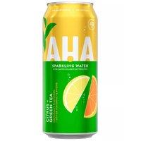Aha! Citrus Green Tea 12oz, 12 Ounce