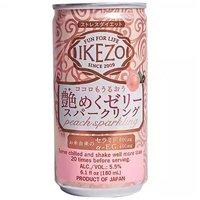 Ozeki Ikezo Sparkling Peach Jelly Sake, 180 Millilitre