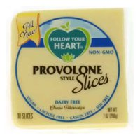 Follow Your Heart  Cheese Slices, Provolone Style, 7 Ounce