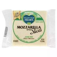 Follow Your Heart Mozzarella Style Slices, 7 Ounce
