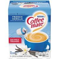 Coffee Mate Liquid Creamer, French Vanilla , 24 Each