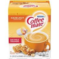 Coffee Mate Liquid Creamer, Hazelnut, 24 Each