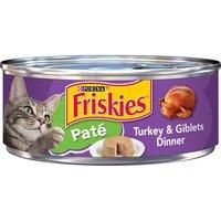 Friskies Pate, Turkey & Giblets Dinner, 5.5 Ounce