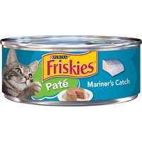 Friskies Pate Wet Cat Food, Mariner's Catch, 5.5 Ounce