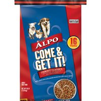 Purina ALPO Dry Dog Food, Come & Get It!, 16 Pound