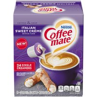 Coffee Mate Liquid Coffee Creamer, Italian Sweet Crème, 24 Each