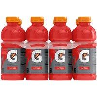 Gatorade, Fruit Punch, Bottles (Pack of 8), 20 Ounce