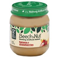 Beech Nut Stage 2 Banana Strawberry, 4 Ounce
