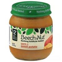 Beech Nut Stage 2 Corn Sweet Potato, 4 Ounce