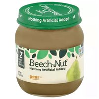 Beech Nut Baby Food, Pear, Stage 2, 4 Ounce