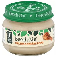 Beech Nut Baby Food, Chicken & Broth, Stage 1, 2.5 Ounce