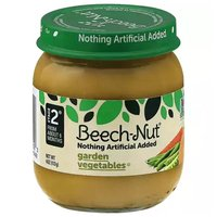 Beech Nut Baby Food, Garden Vegetables, Stage 2, 4 Ounce
