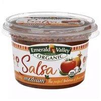 Emerald Valley Organic Medium Salsa, 14 Ounce