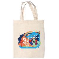 Give Aloha Punky Aloha Tote Bag, 1 Each