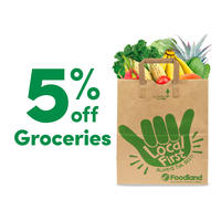 5% Off Groceries, 1 Each