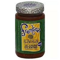 Frontera Gourmet Medium Salsa, Jalapeno Cilantro, 16 Ounce