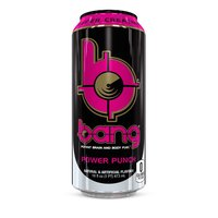 Bang Energy Drink, Power Punch, 16 Ounce