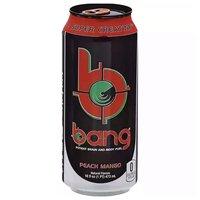Bang Energy Peach Mango, 16 Ounce