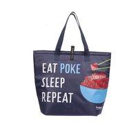 Foodland Eat Sleep Poke Thermal Bag, 1 Each