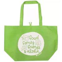 Food, Family, Friends & Aloha Reusable Grocery Bag, 1 Each