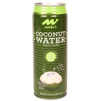 Maika`i Pure Coconut Water with Pulp, 17.5 Ounce