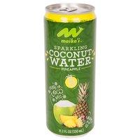 Maika`i Sparkling Pineapple Coconut Water, 330 Millilitre