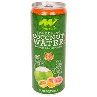 Maika`i Sparkling Coconut Water, Passion Orange Guava, 330 Millilitre