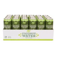 Maika`i 100% Pure Coconut Water, Cans (Pack of 24), 17.5 Ounce