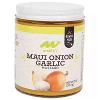 Maika`i Mustard, Maui Onion & Garlic, 7.5 Ounce