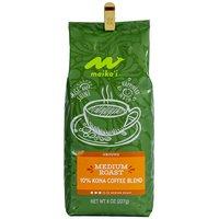 Maika`i Medium Roast 10% Kona Coffee, Ground, 8 Ounce