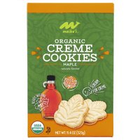 Maika'i Organic Maple Crème Cookies, 11.4 Ounce