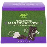 Maika'i Bear-Shaped Dark Chocolate Covered Marshmallows, 7 Ounce
