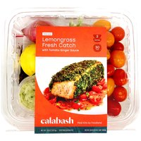 Calabash Lemongrass-Crusted Fresh Catch with Tomato Ginger Sauce, 38 Ounce
