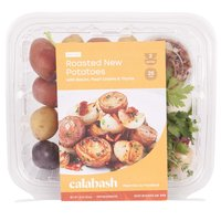 Calabash Roasted New Potatoes with Bacon, Pearl Onions & Thyme, 22 Ounce