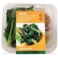Calabash Wok-Fried Chili Lemongrass Choi Sum, 16 Ounce