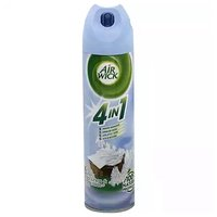Air Wick 4-In-1 Air Freshener, Linen & White Lilac, 8 Ounce