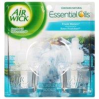 Air Wick Scented Oil Rf Twn Fresh Waters, 2 Each