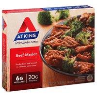 Atkins Beef Merlot, 9 Ounce